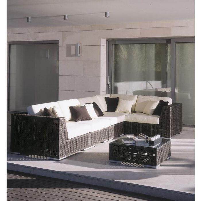 Outdoor furniture - rattan (durable, light, water proof... Sort of)