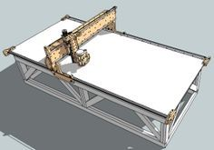blackFoot - large format 4'x8' CNC machine ... kit is cheapest I have found