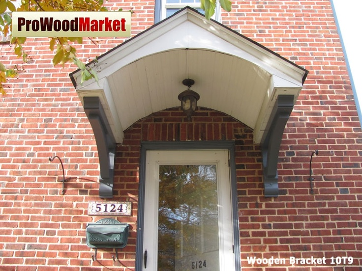 Wooden Brackets Are The Perfect Accent For Exterior Soffit, Front Entries,  Shed Roof , Columns And Gables.