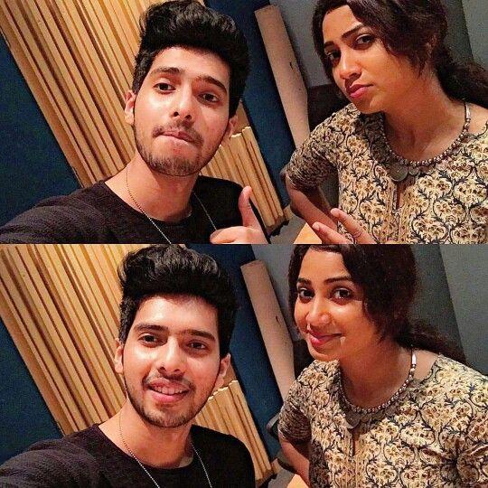 Armaan with Shreya Ghoshal