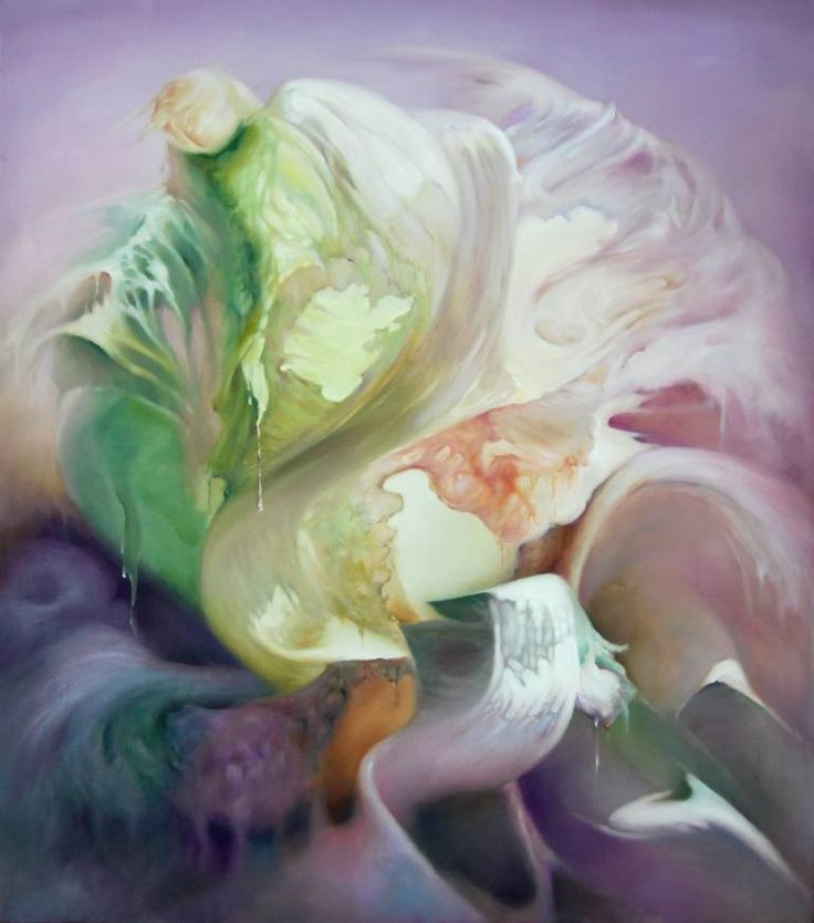 "Saatchi Art Artist xucheng Han; Painting, ""Chinese Cabbage No.8"" #art"