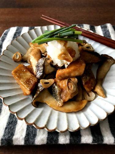 【簡単!!魚レシピ】鮭とエリンギの照り焼きおろしと、レシピブログmagazine発売しました | 山本ゆりオフィシャルブログ「含み笑いのカフェごはん『syunkon』」Powered by Ameba