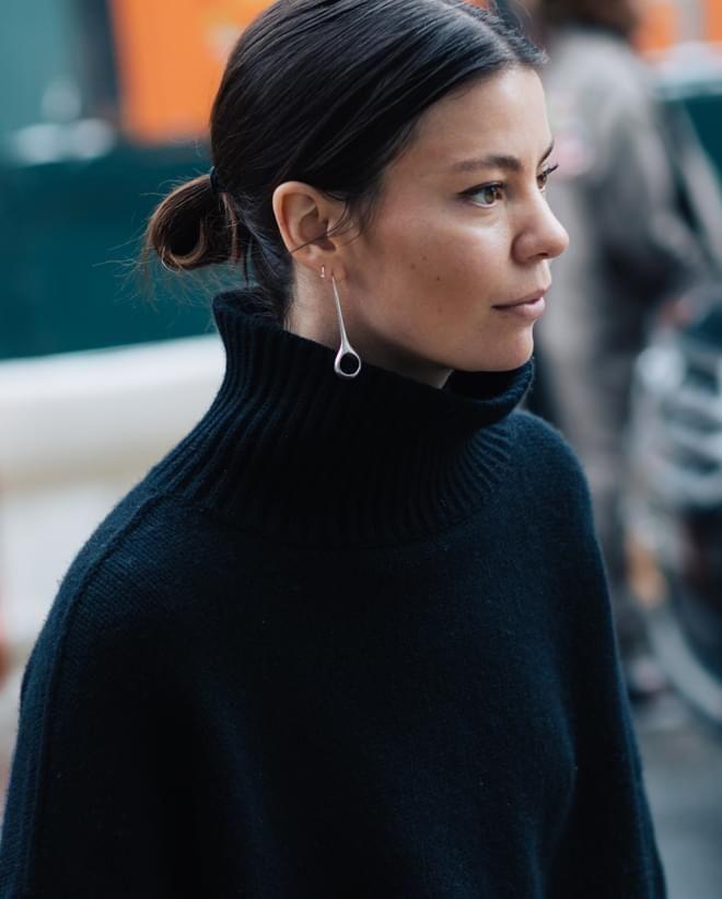 Street style bijoux repérés à la Fashion Week automne-hiver 2017-2018 de New York