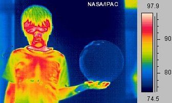 NASA infrared images What is Heat? How is it created?