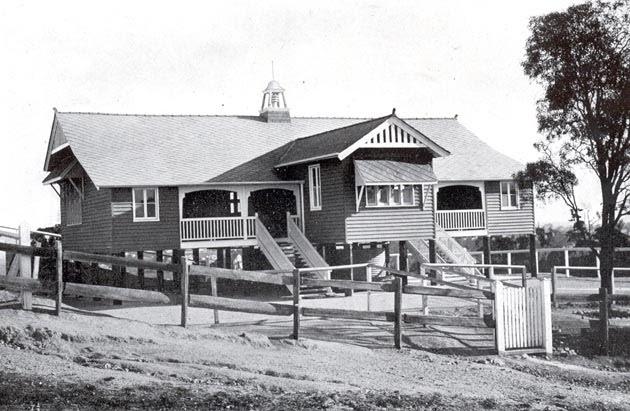 Bulimba State School 1915  queenslander style