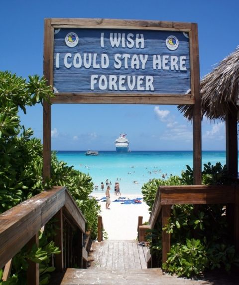 The Best Beaches of the Caribbean - Half Moon Cay in the Bahamas