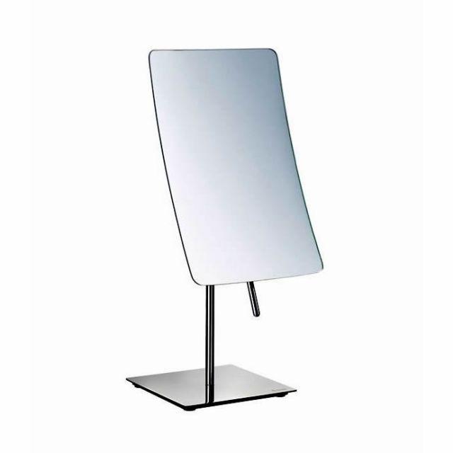 Square Shape Smedbo Outline Free Standing Make Up Mirror FK434