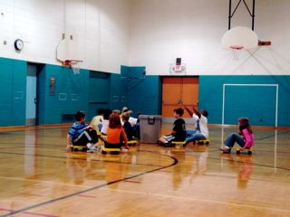 BEST.GYM.CLASS.EVA!!!! Scooters and games during gym class in elementary school :)