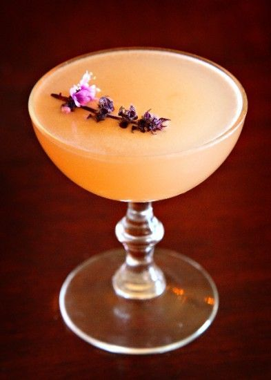 Empress - this is my favorite drink from Cafe Flora. rum, grapefruit juice, and st germain.