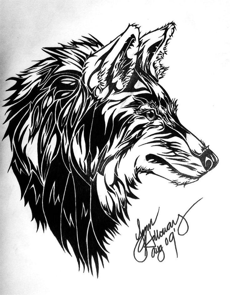 картинки тату волка получения живого