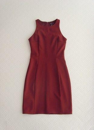 Kup mój przedmiot na #vintedpl http://www.vinted.pl/damska-odziez/krotkie-sukienki/13977898-mango-sukienka-bordowa-bordo-bandazowa-34-xs