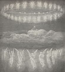 The Divine Commedy, Paradise, illustration by Gustave Doré