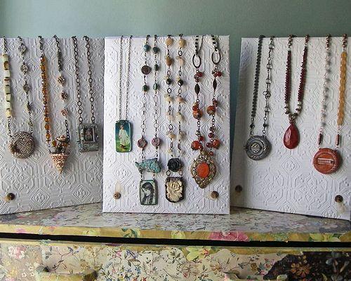 Necklace Displays Front Necklace Display Jewellery