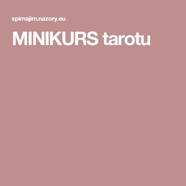 MINIKURS tarotu