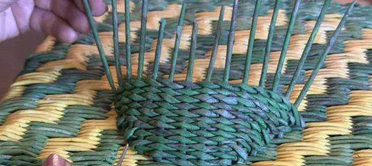 Плетение из газет. Плетение из газетных трубочек