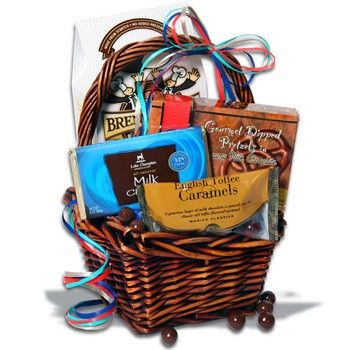 31 best graduation day gift baskets images on pinterest gift chocolate on my mind gift basket negle Images