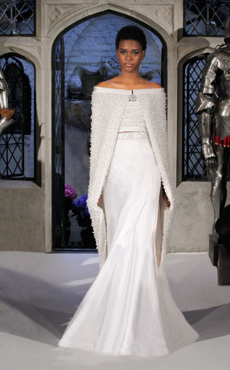 30 best bridal capes cover ups images on pinterest for Wedding dress with a cape