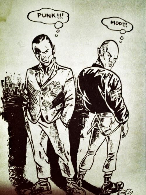 Classic art  skinheads!