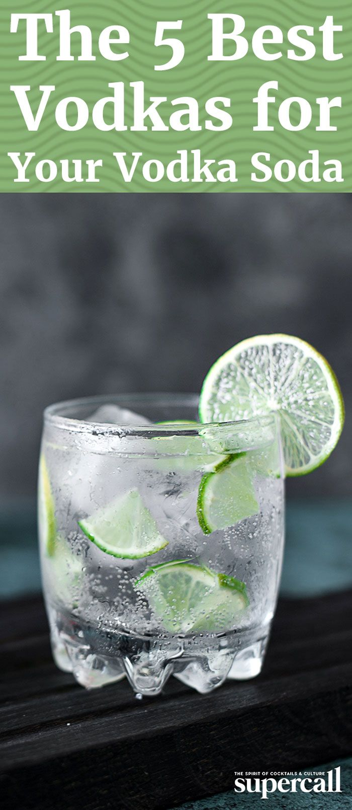 Here are five of the best vodkas to use in a Vodka Soda, from a garden-fresh Japanese vodka to a lovely, cucumber-flavored variety.