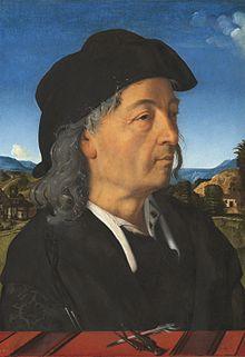 Piero di Cosimo - Ritratto di Giuliano da Sangallo (1482-1485 circa), Amsterdam, Rijskmuseum