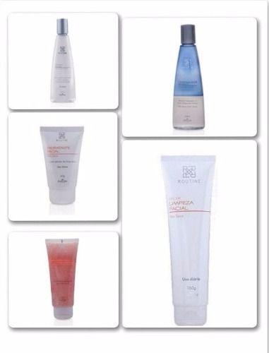 KIT CUIDADOS BÁSICOS PELE SECA Routine é a linha de cuidados faciais, e tem o objetivo de oferecer uma abordagem moderna para cada tipo de necessidade da pele. Para adquiri este Kit, acesse: http://produto.mercadolivre.com.br/MLB-831475017-kit-cuidados-basicos-para-pele-seca-routine-_JM#D[S:VIP,L:SELLER_ITEMS,V:1]