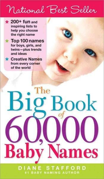 Choose the perfect name for your baby! Packed full of more than 60,000 of the world's BEST - and most unique - baby names, The Big Book of 60,000 Baby Names is the only resource you need to help you c