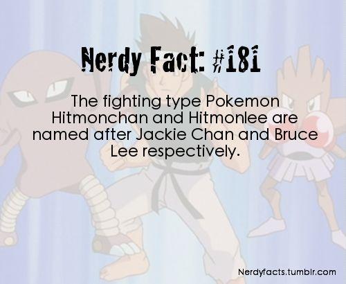 Nerdy Facts #181: Hitmonlee and Hitmonchan