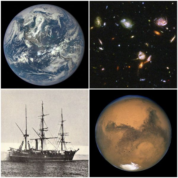 Motivation Mondays: DISCOVERY - Our planet Earth, Mars, Expedition ship Discovery, Hubble Outer space, dreams and beyond   MirthAndMotivation #motivation #quotes #discovery