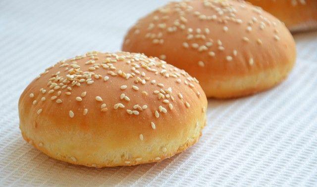 Булочки для гамбургеров рецепт от Тарелкиной