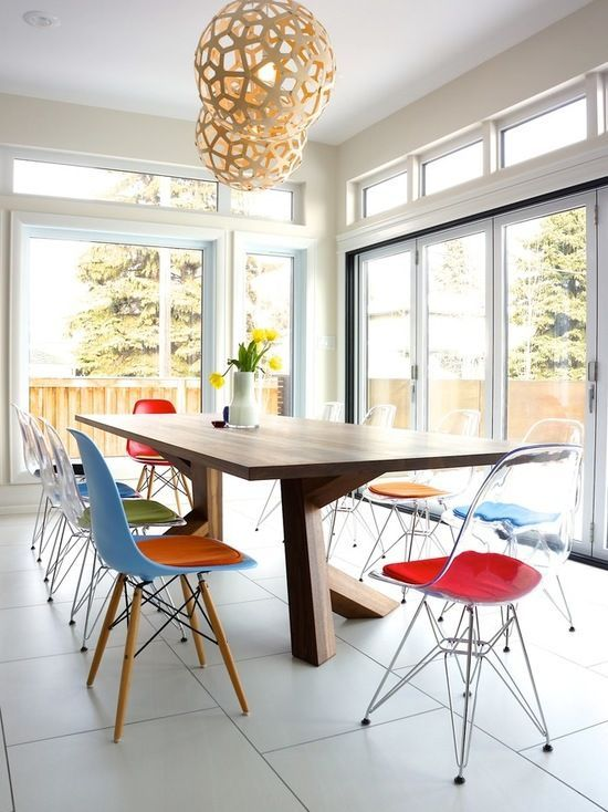 Image Result For Natural Coral Lighting Eames Dining Chair