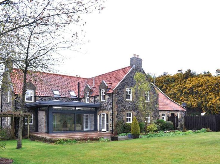 extension avec toit plat maison