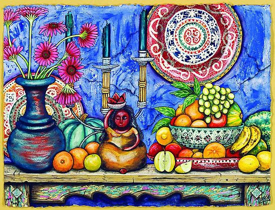 Sarina Tomchin~ 'Mexican Fruit Lady'