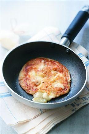Blinis de pommes de terre au cantal