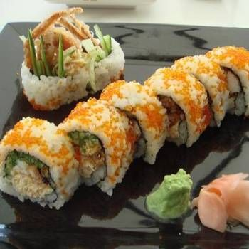 Tons of different sushi recipes to try                                                                                                                                                                                 More