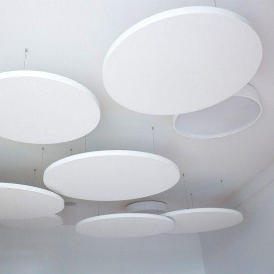 Akustik Deckensegel | Wandabsorber - Design Deckensegel rund Inwerk  - (Bild 1 von 5)