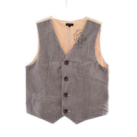 Gilet - IKKS à 12,50 € : pour plus d'articles d'enfants => www.entre-copines.be | livraison gratuite dès 45 € d'achats ;)    L'expérience du neuf au prix de l'occasion ! N'hésitez pas à nous suivre.   Que pensez-vous de cet article ? merci pour le repin ;)  #IKKS #new #Taille: 8A #mode #fashion #robes  #secondhand #clothes #recyclage #greenlifestyle #secondemain #depotvente #friperie #vetements #enfants #garçon