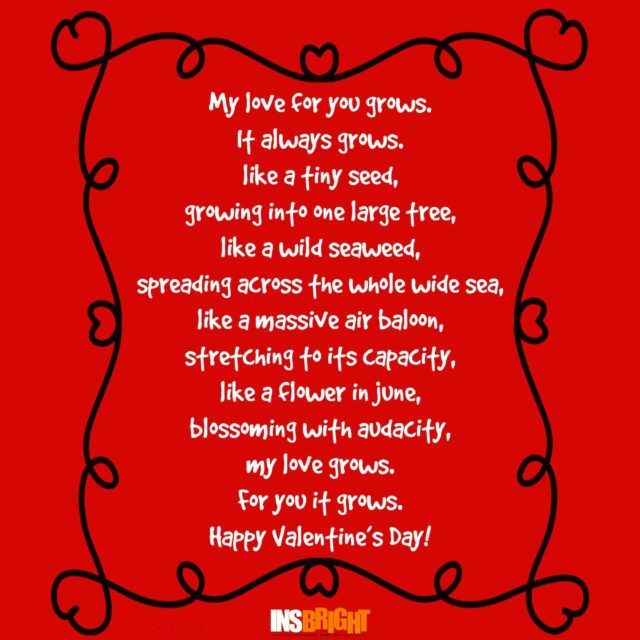 Happy Valentine S Day Poems With Images Valentines Day Poems With