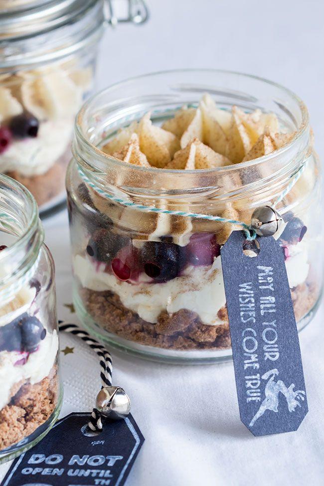 Spekulatius Cheesecake Jars