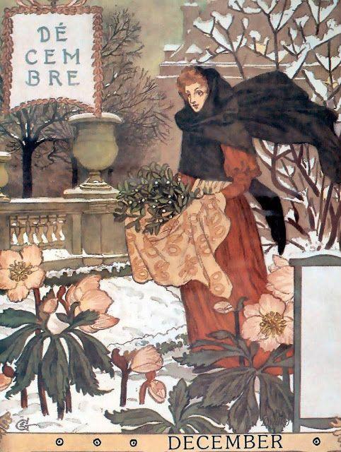 La Belle Jardiniere – December Eugène Grasset1896