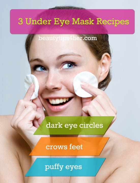 Get Rid Of Those Eye Bags, Crows Feet and Dark Circles : Under Eye Masks | Beauty and MakeUp Tips