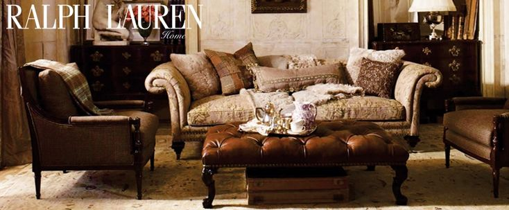 Ralph lauren living room furniture furniture pinterest for Ralph lauren living room designs