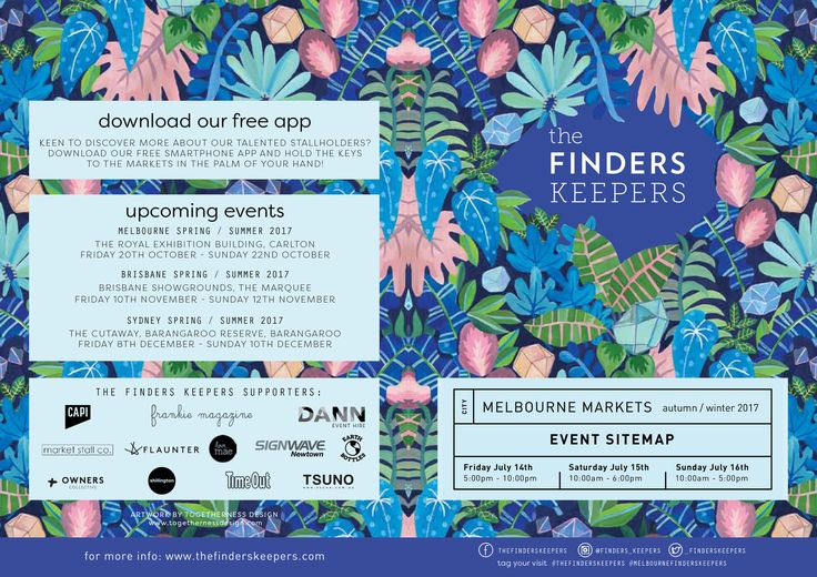 Find Me At Finders Keepers Melbourne Autumn/Winter