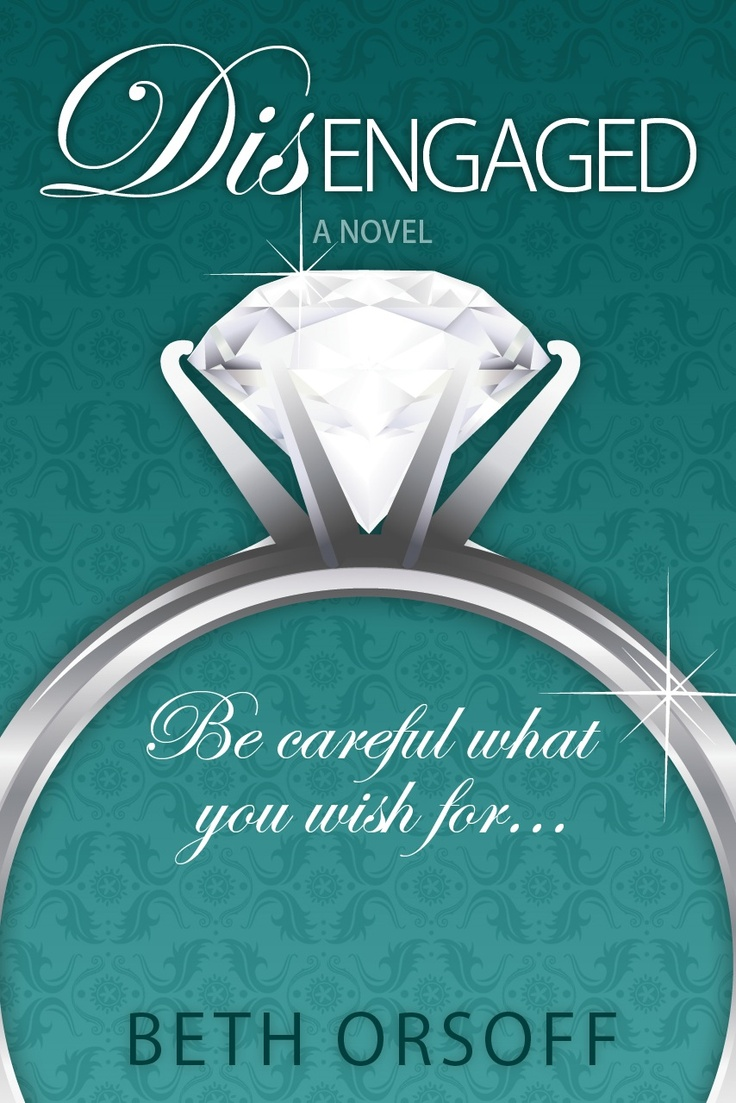 Cover for DISENGAGED.  I just LOVE that big diamond ring.