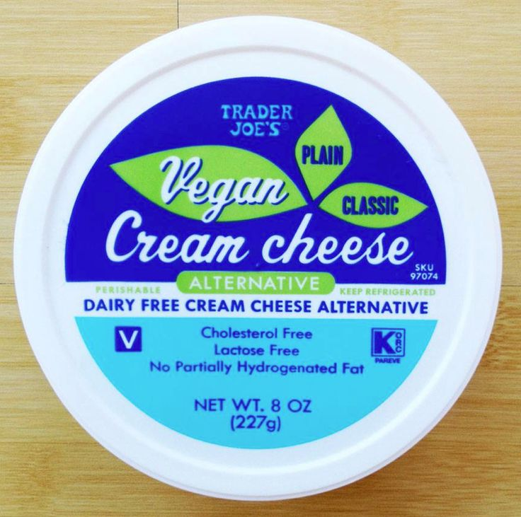 non dairy substitute for cream cheese
