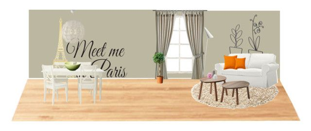"""Ikea room"" by girlie-contrast on Polyvore featuring interior, interiors, interior design, home, home decor, interior decorating, Suki Cheema, Ballard Designs and WallPops"