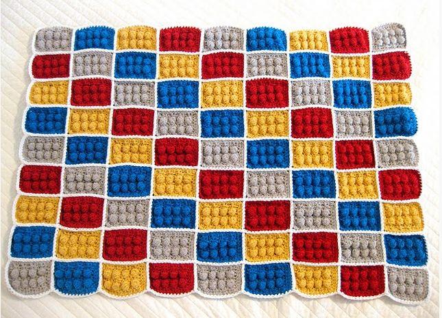 Crochet Lego Blanket : Lego Crochet Blanket? Yes Please. DIY & Crafty Ideas Pinterest