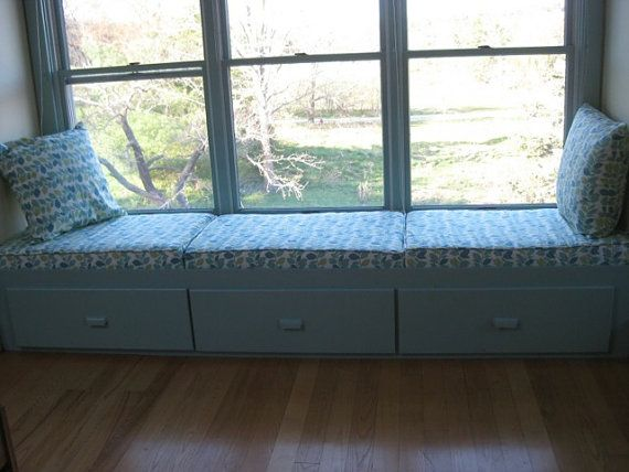Window Seat Or Bench Cushions And Covers Custom Made In Your Choice Of Fabric
