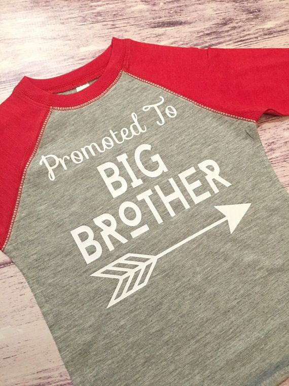 promoted to big brother shirt pregnancy by PurpleElephantCo