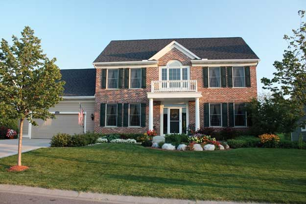 Beautiful Colonial With Grand Two Story Entrance Large
