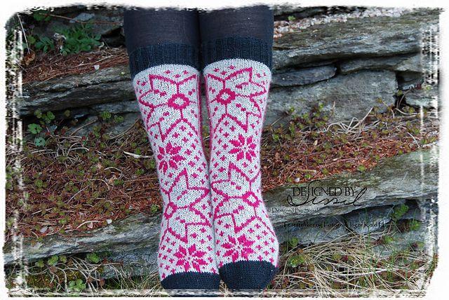 Ravelry: Granholt Sokker pattern by Sissel Marie Johansen